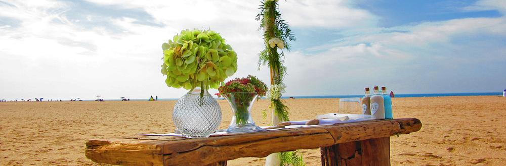 bodas en playa cabecera
